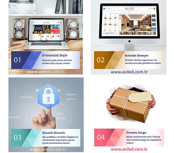 Aviled Avize ve Aksesuar Online Satış Mağazası